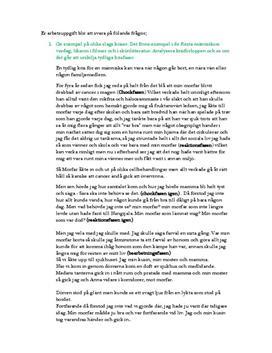 Kriser | Psykologi | Instuderingsfrågor