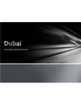 Dubai | PowerPoint-presentation