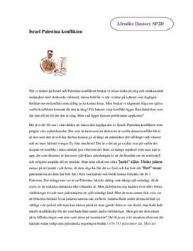 Israel-Palestina-konflikten | Historia B
