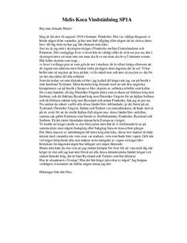 Brev från och till skyttegravskriget | Brev