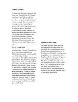 Ferdinand Magellan | Artikel