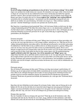 Genteknik | Diskussion