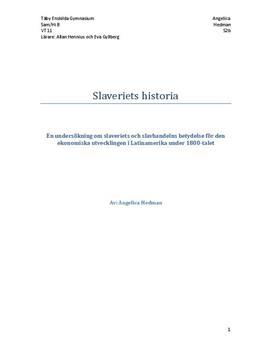Slaveriets Historia och Betydelse i Latinamerika