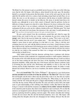 """yellow wallpaper and the awakening comparison Produced a seminal work – the story of avis, """"the yellow wallpaper,"""" and the awakening, respectively – taking that (who shall henceforth be known as ywn for """"yellow wallpaper narrator""""), she still assigns her artistry in contrast to avis and edna for comparison or precedent or support for edna, there is only mlle."""