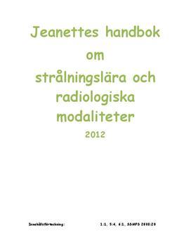 Strålningslära och Radiologiska Modaliteter - Radioaktivitet