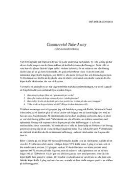 UF-rapport: Marknadsundersökning