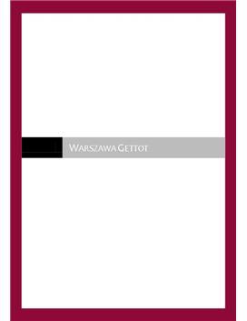 Warszawas Getto | Andra Världskriget