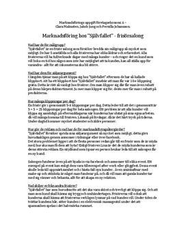 Marknadsundersökning: Frisörsalong