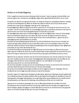 Fördjupningsuppgift: Badanläggning - Idrott och hälsa