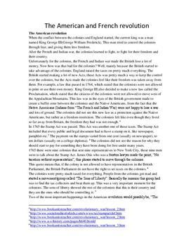 Amerikanska revolutionen och Franska revolutionen | Historia 1b