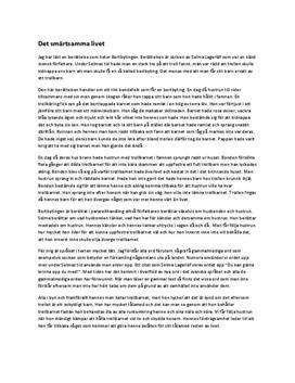 Bortbytingen av Selma Lagerlöf | Analys