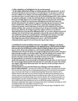Privat- och samhällsekonomi | Begrepp
