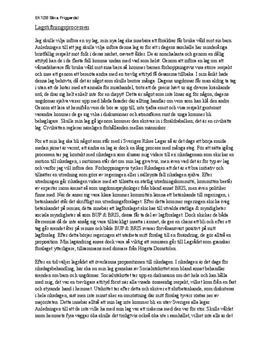 Lagstiftningsprocessen | Barnaga