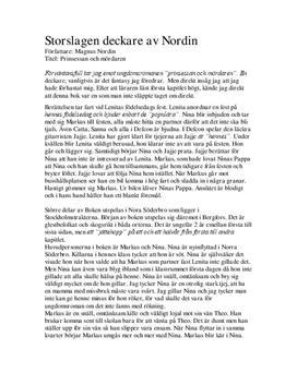 Prinsessan och mördaren | Magnus Nordin | Bokrecension