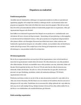 Organisera en studentbal | Organisation och Ledarskap