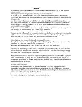 Industri och Ekologi   Biologi 1