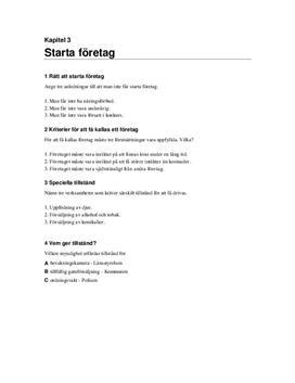 Starta företag | Frågor och svar