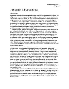 Hinduism och Buddhism | Beskrivning och Jämförelse