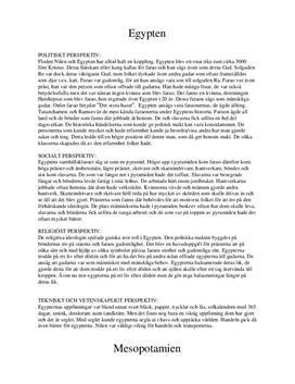 Egypten och Mesopotamien | Politik, Samhälle, Religion, Teknik, Vetenskap