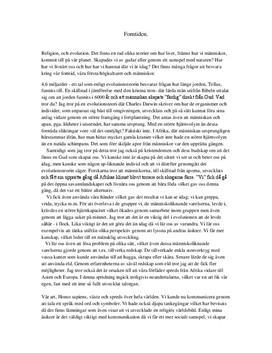 Utveckling och evolutionsteori | Forntiden