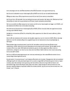 Åldersbestämning av föremål | Kol-14 | Kol-12