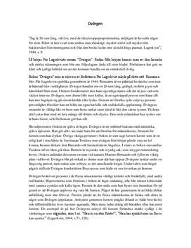 Dvärgen | Bokanalys