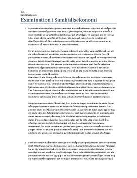 Prismekanismen och ekonomisk politik | Instuderingsfrågor