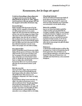 Tiggeri | Argumenterande text
