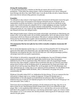 Årsredovisning | Ung företagsamhet | Inlämningsuppgift