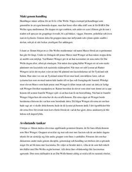 Die Welle (Vågen) | Filmanalys