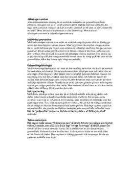 Brottsprevention - olika ideologier | Sammanfattning