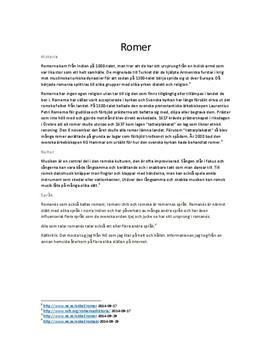 Romerna | Sammanfattning