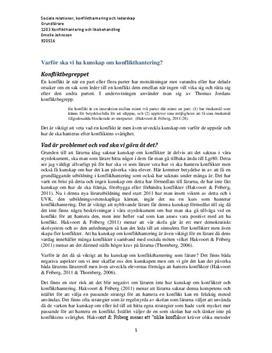 Konflikthantering och ledarskap hos lärare | Frågor och svar