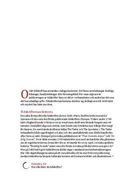 Tidskriftens historia | Fördjupningsuppgift