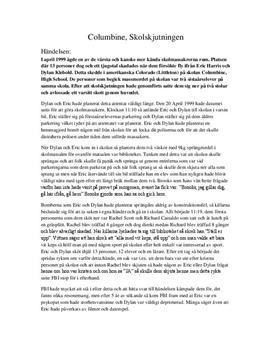 Skolskjutningen i Columbine | Analys