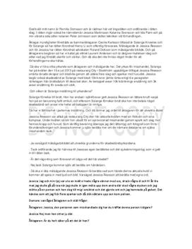 Rättsprocess misshandel | Fördjupningsuppgift
