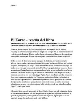 El Zorro | Bokrecension