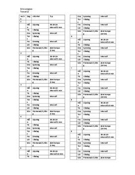 10-20-30-metoden | Intervallträning | Träningsschema