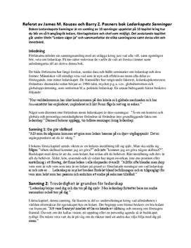 Ledarskapets sanningar | Referat