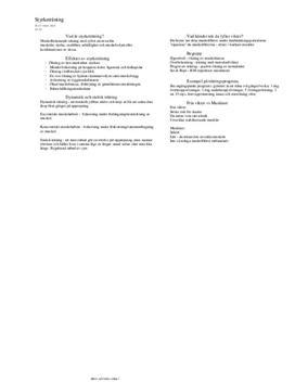 Introduktion till styrketräning | Inlämningsuppgift