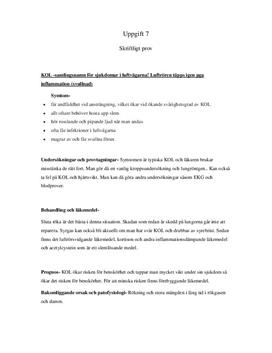 KOL, Epilepsi, Diabetes | Sammanfattning