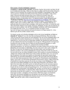 Eutanasi | Etisk analys