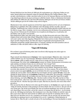 Hinduism och Buddhism: Kännetecken & vägen till frälsning   Jämförelse