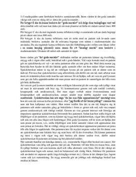 Samtalsmetodik inom vård och skola | Inlämningsuppgift