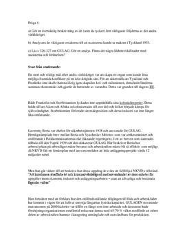Andra världskriget: Nazistpartiets framväxt | Förintelsen och Gulag | Analys