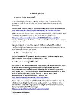 Frågor och svar: Global migration