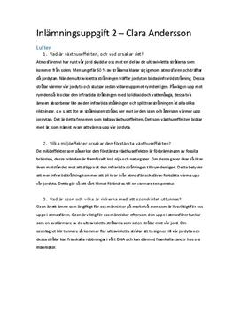 Miljöförstöring | Frågor och svar