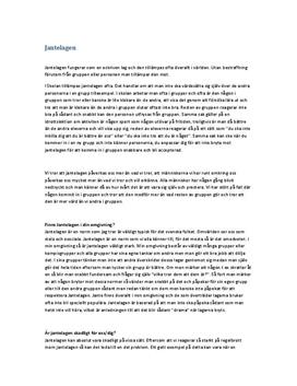 Jantelagen | Utredande text