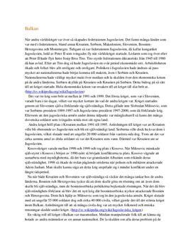Krigen på Balkan | Analys