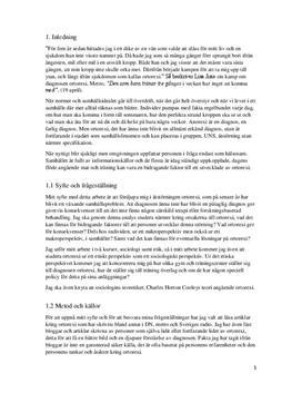 Ortorexi | Sociologisk analys